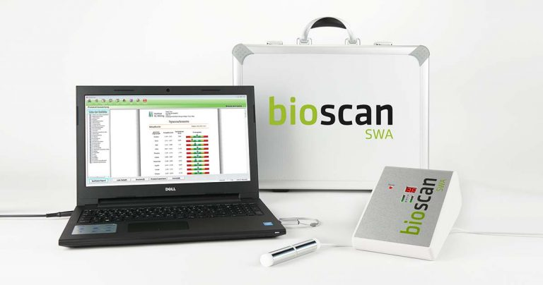 Bioscan SWA Analysegerät