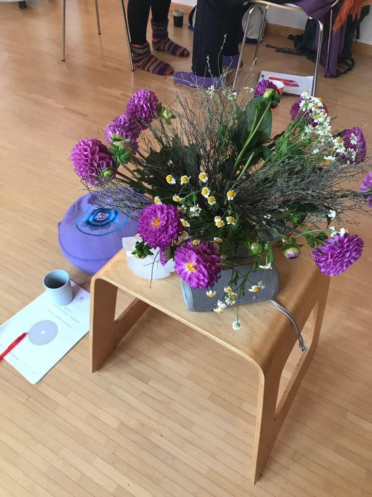Ausbildung Craniosacrale Therapie Stuttgart Blumenstrauß